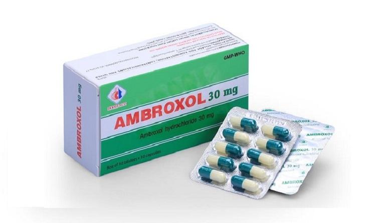 Ambroxol giúp làm tiêu đờm, loãng dịch đờm nhanh