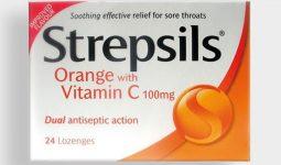Thuốc ngậm viêm họng Strepsil có nhiều hương vị khác nhau