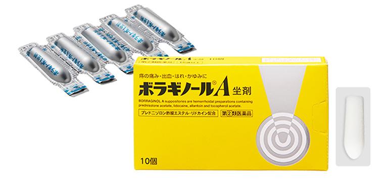 thuốc nhét bệnh trĩ