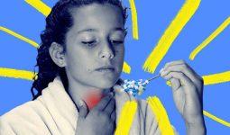 Trẻ em có thể gặp phải những tác dụng phụ khôn lường nếu lạm dụng thuốc trị đau họng