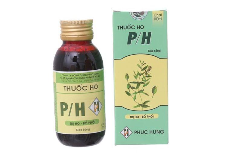 Thuốc trị ho PH bổ phổi, loãng đờm, tiêu viêm