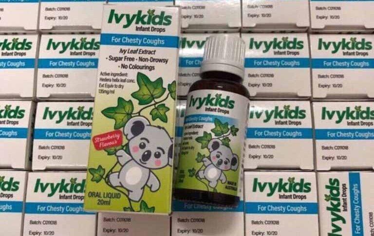 Thuốc ho ivy kid - Thuốc trị ho cho trẻ em