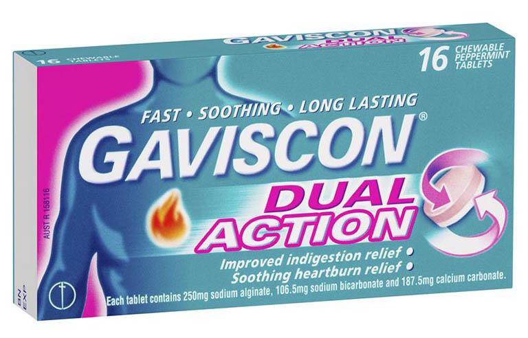 Thuốc trị trào ngược dạ dày thực quản Gaviscon
