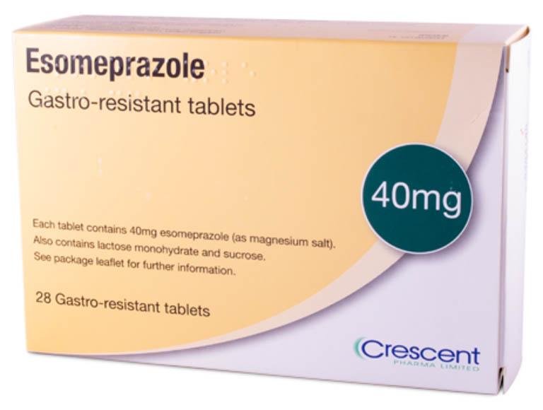 Thuốc trị trào ngược dạ dày thực quản Esomeprazole