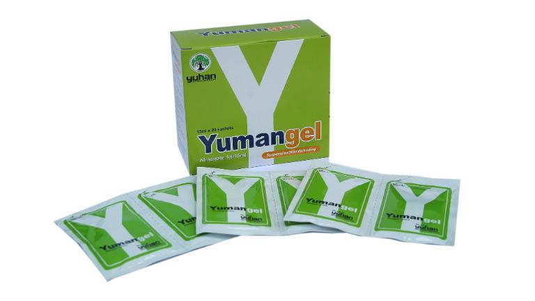 thuốc trị trào ngược dạ dày thực quản Yumangel