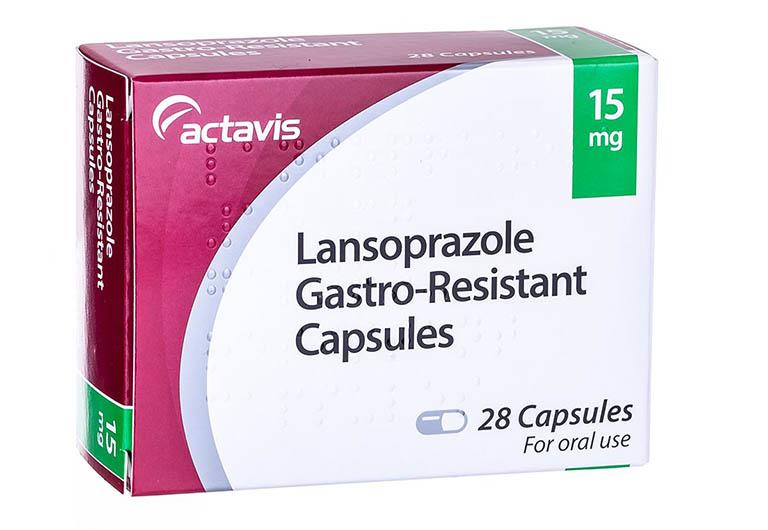 Thuốc trị trào ngược dạ dày thực quản Lansoprazole