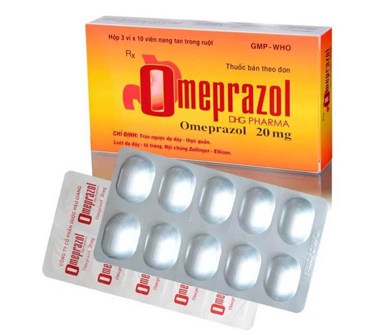 thuốc trị trào ngược dạ dày thực quản Omeprazol