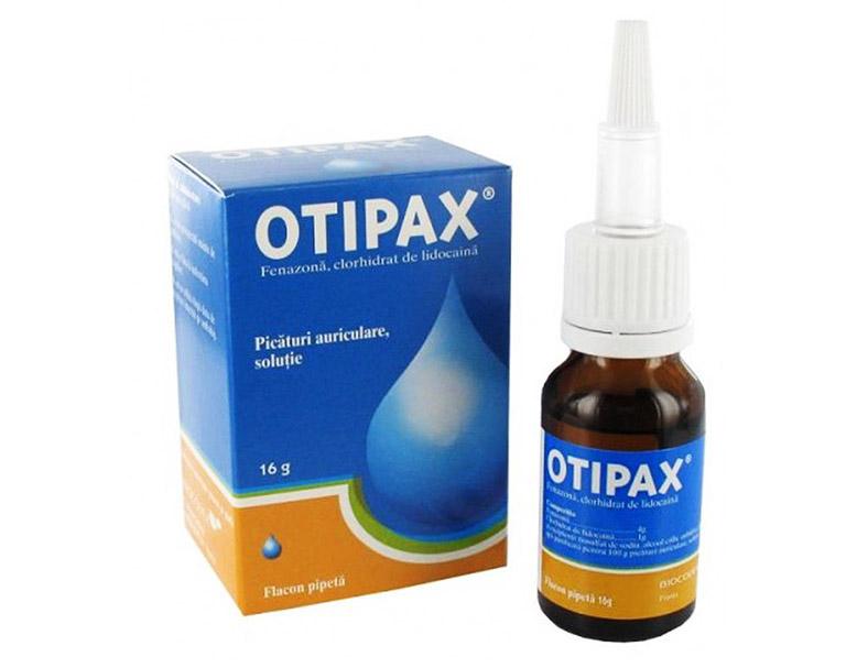 Otipax chứa nhiều hoạt chất có tác dụng kháng khuẩn và tiêu viêm hiệu quả