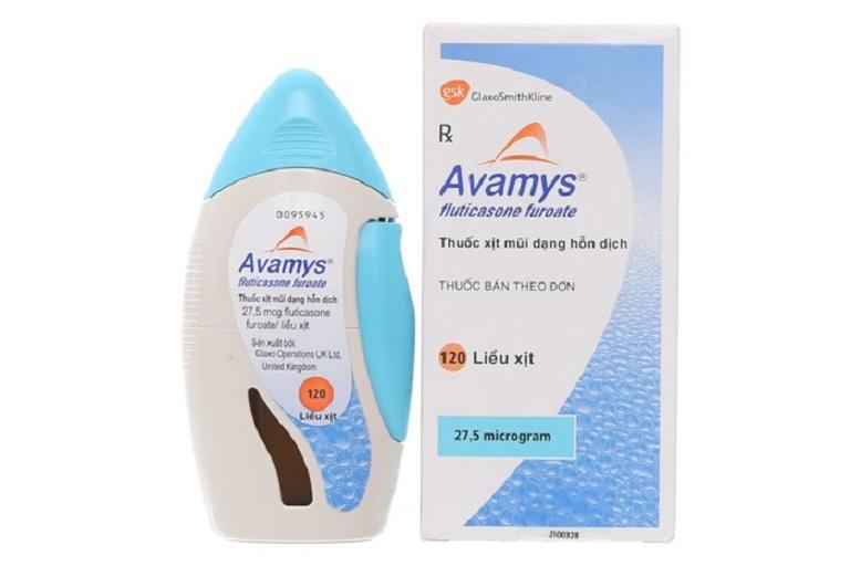 Avamys là dạng thuốc xịt chữa xoang phù hợp cho nhiều đối tượng