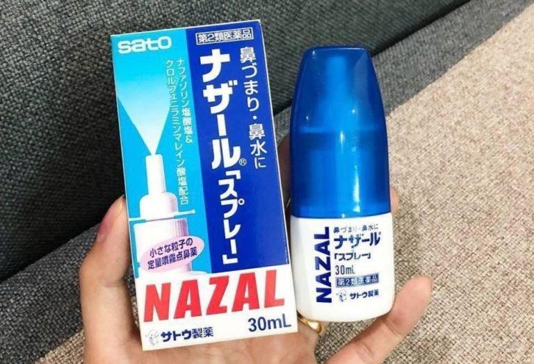 Thuốc xịt chữa viêm xoang Nazal giúp cải thiện nhanh triệu chứng viêm xoang