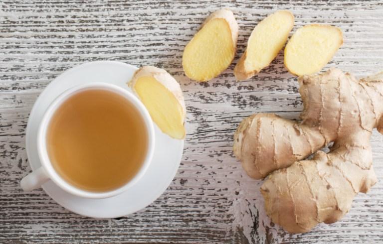 Cải thiện triệu chứng của bệnh viêm hang vị dạ dày bằng cách uống trà gừng