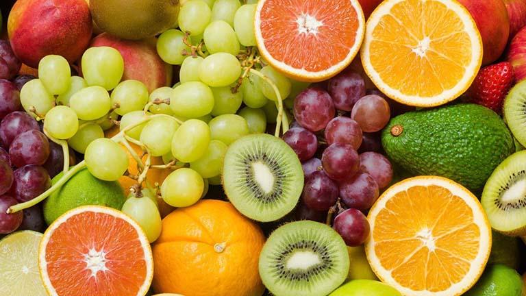 Hoa quả là thực phẩm chữa viêm phế quản rất tốt