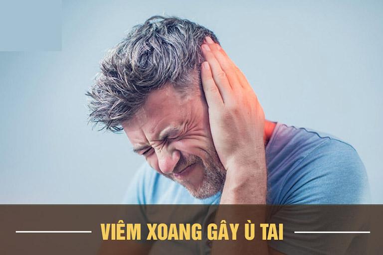 Viêm xoang gây ù tai ảnh hưởng đến cuộc sống và sức khỏe