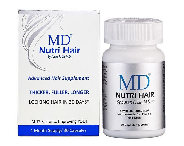 Thực phẩm bổ sung MD Nutri Hair rất được tin dùng ở Mỹ và Châu Âu