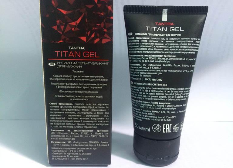 Cách nhận biết sản phẩm Titan Gel chính hãng