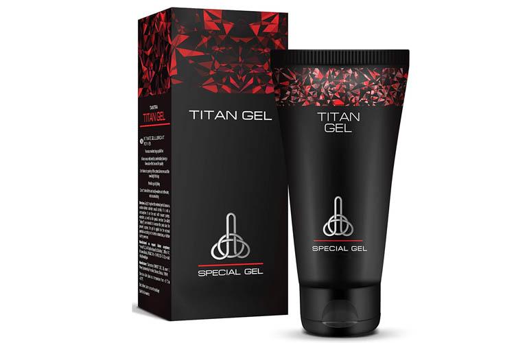 Thành phần của Titan Gel