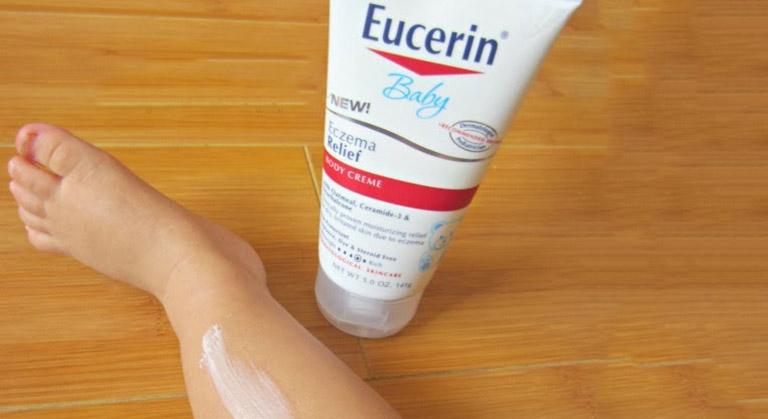 Kem trị chàm sữa Eucerin Eczema Relief