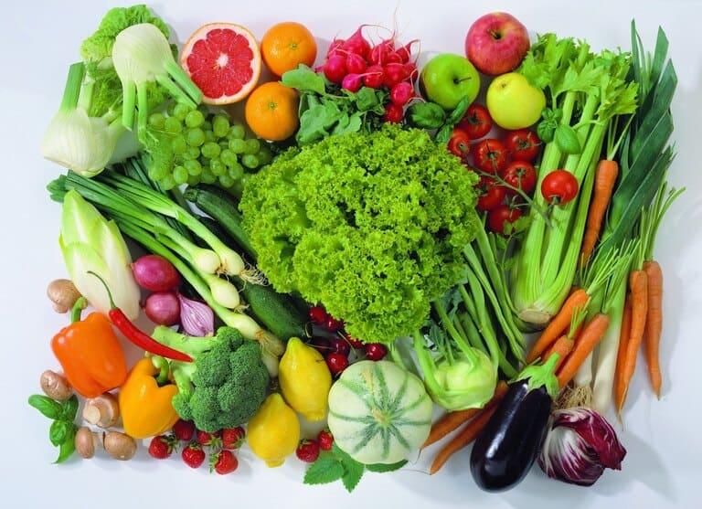 Bị á sừng nên ăn nhiều rau củ quả