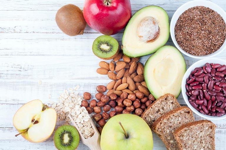 Bổ sung các loại thực phẩm giàu vitamin và chất xơ giúp tăng sức đề kháng cho cơ thể