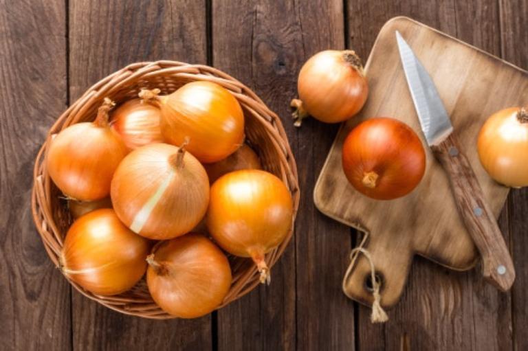 Hành tây là thực phẩm có tác dụng rất tốt đối với sức khỏe sinh lý nam giới