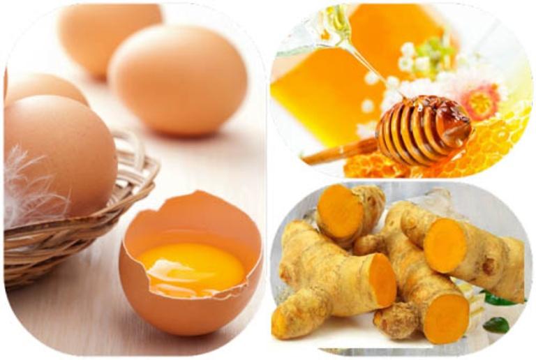 Dùng kết hợp trứng gà, mật ong và nghệ tươi chữa yếu sinh lý nam khá an toàn và hiệu quả