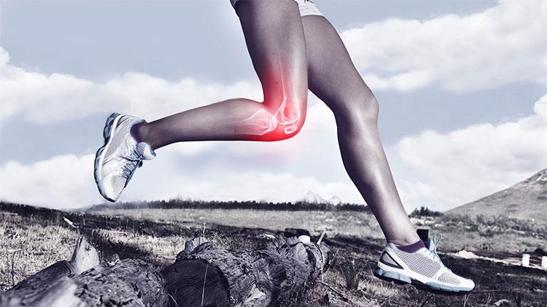 Đau đầu gối khi chạy bộ