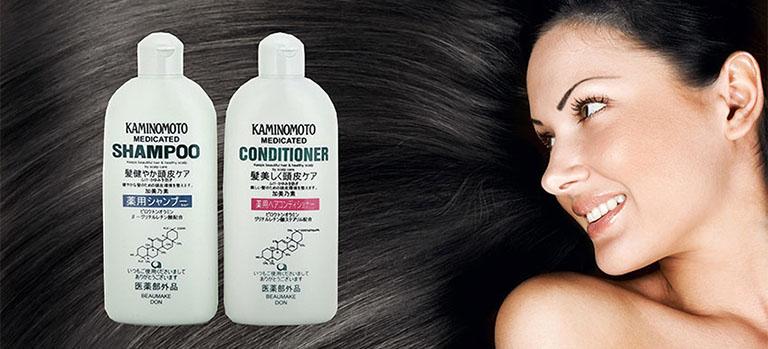 Dầu gội trị rụng tóc Kaminomoto Medicated Shampoo