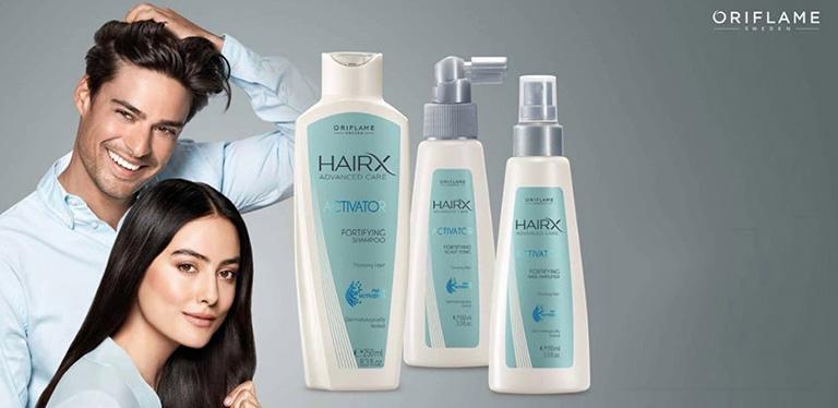 Dầu gội kích mọc tóc Oriflame HairX Advanced Care