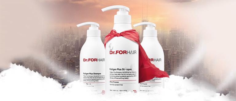 Dầu gội Dr.FORHAIR Folligen Plus ngăn rụng tóc