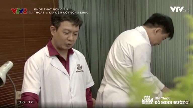 Đỗ Minh Đường xuất hiện trong chương trình Khỏe thật đơn giản