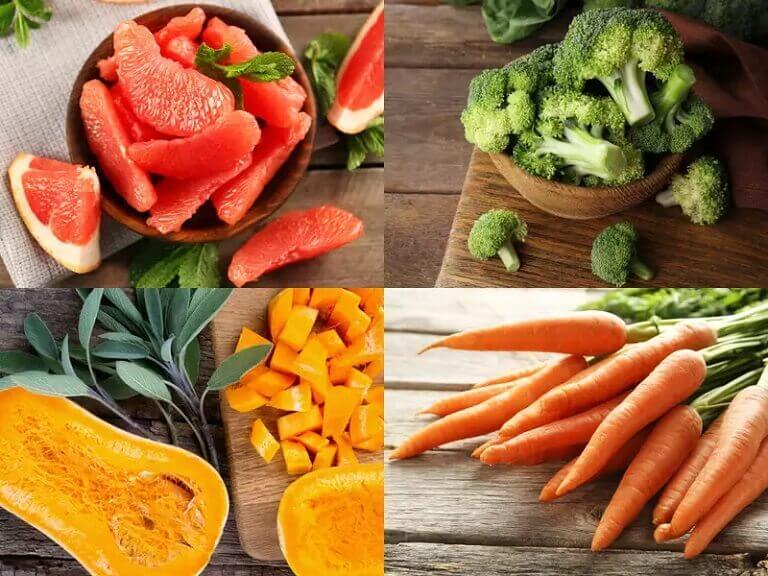 Vitamin A giúp hỗ trợ điều trị hắc lào ăn vào máu