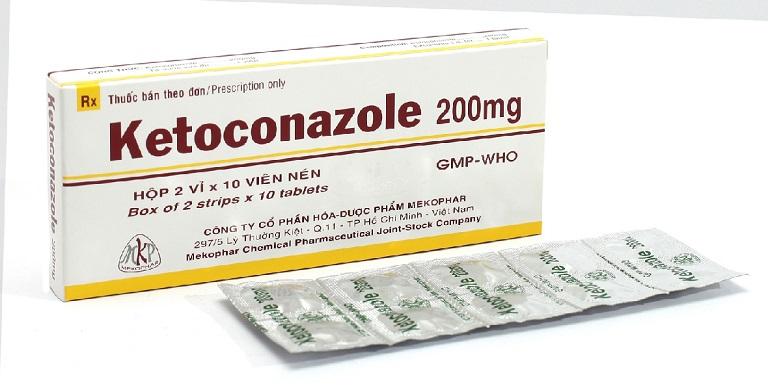 Thuốc ketoconazole đặc trị các vấn đề về nấm da