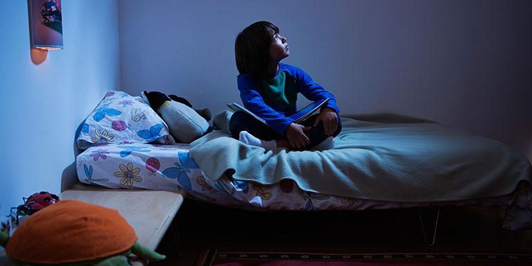 Khó ngủ ở trẻ em