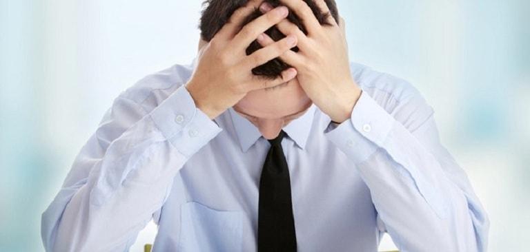 Căng thẳng, áp lực là một trong những nguyên nhân gây rối loạn cương dương tạm thời