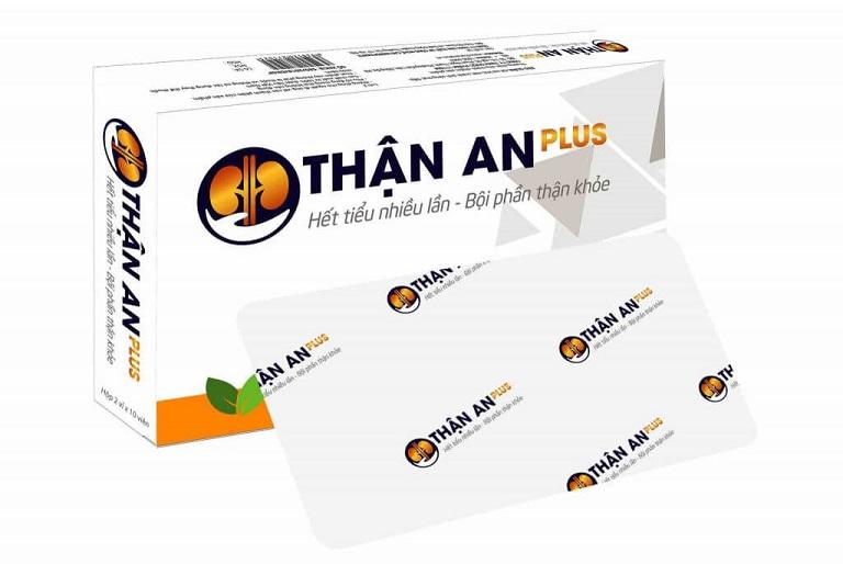 An thận Plus giúp giảm chứng tiểu buốt, tiểu đêm nhiều lần, hỗ trợ thận khỏe mạnh