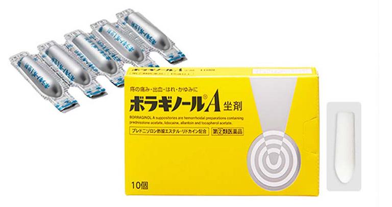 thuốc chữa bệnh trĩ của Nhật