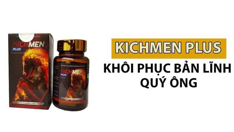 Thuốc tăng cường sinh lý nam giới Kichmen Plus