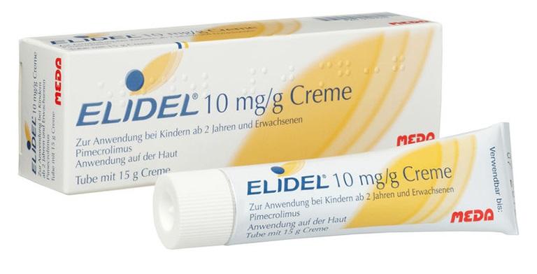 Thuốc Elidel giúp làm chậm quá trình hình thành tế bào sừng, ngăn cản triệu chứng bệnh