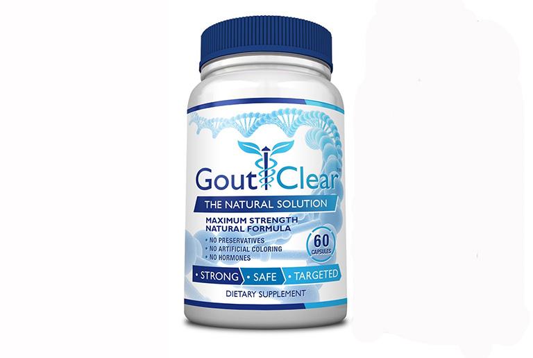 Thuốc trị gout của Mỹ GoutClear