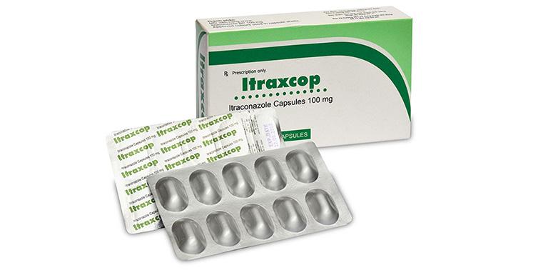 Thuốc uống trị hắc lào Itraxcop