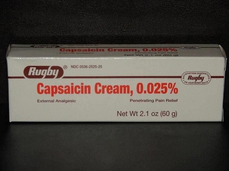Thuốc chữa zona thần kinh Capsaicin Cream