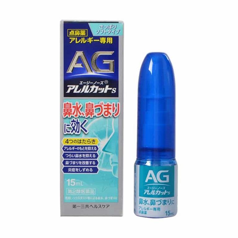 Thuốc viêm mũi dị ứng của Nhật AG