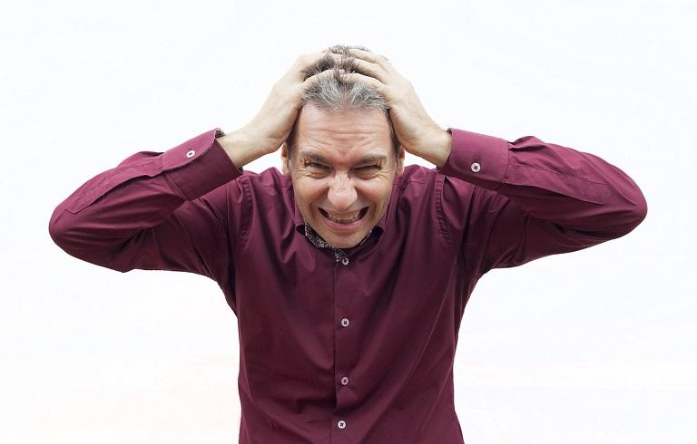 Stress gây ra rất nhiều căn bệnh cho nam giới