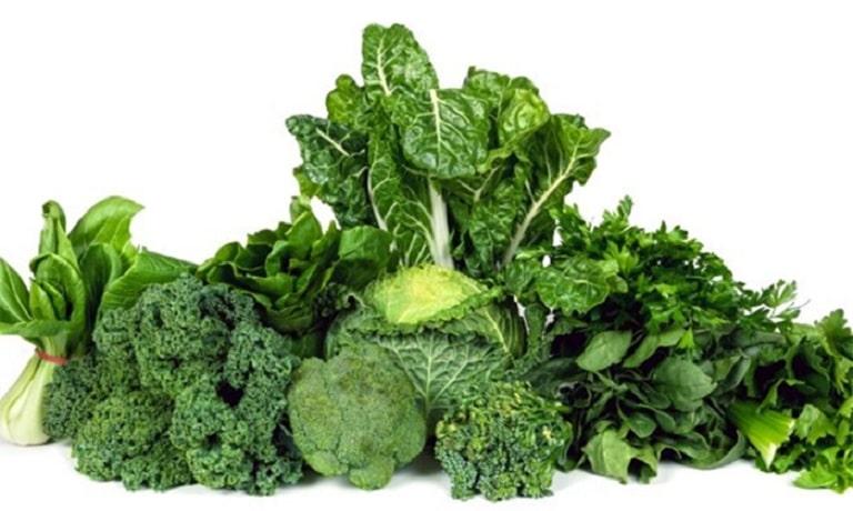 Các loại rau họ cải chứa nhiều vitamin và khoáng chất tốt cho người bị viêm da tiết bã