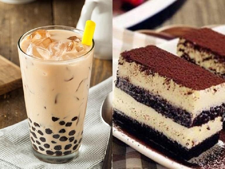 Trà sữa, bánh ngọt chứa nhiều đường tinh luyện không tốt cho da, người bị viêm da tiết bã nên kiêng ăn trong quá trình điều trị