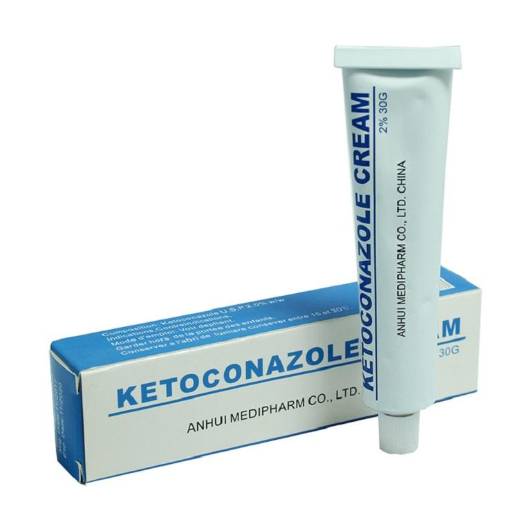 Thuốc Tây y thường có tác dụng chống viêm, giảm ngứa, ngăn ngừa lây lan sang vùng da khác