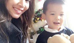 Chị Nguyễn Thị Quỳnh và bé Hồng Hiếu 7 tuổi (Ảnh do nhân vật cung cấp)
