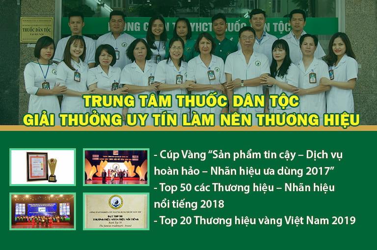 Một số giải thưởng danh giá Trung tâm Thuốc dân tộc đã đạt được