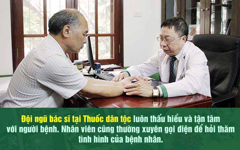 Nghệ sĩ Bình Xuyên chia sẻ về chất lương điều trị tại Thuốc dân tộc