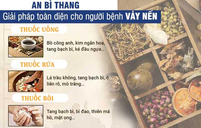 Một số thành phần dược liệu chủ đạo dùng trong các chế phẩm của bài thuốc An Bì Thang